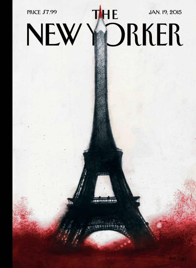 New Yorker Cover: 'Solidarité'